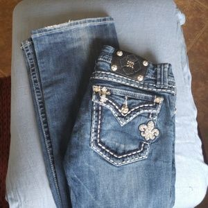 Miss Me Boot Cut Jeans 27